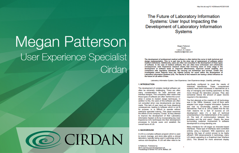 User Input Impacting the Development of Laboratory Information Systems