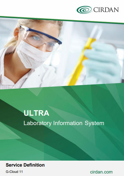 ULTRA Laboratory Information System in the Cloud