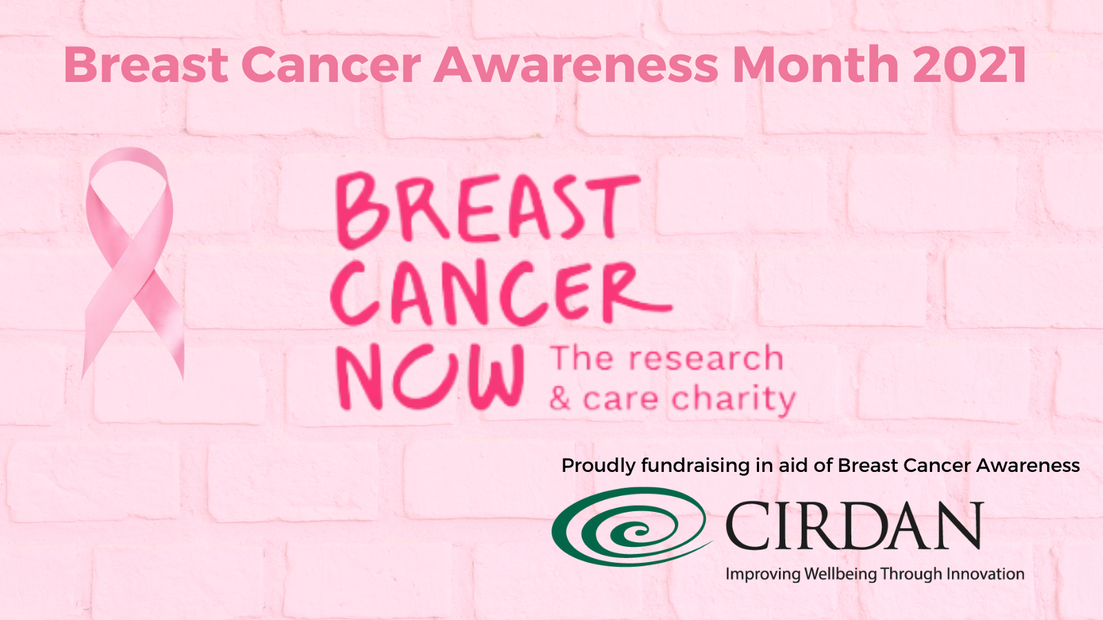 Cirdan proudly fundraising in aid of Breast Cancer Awareness